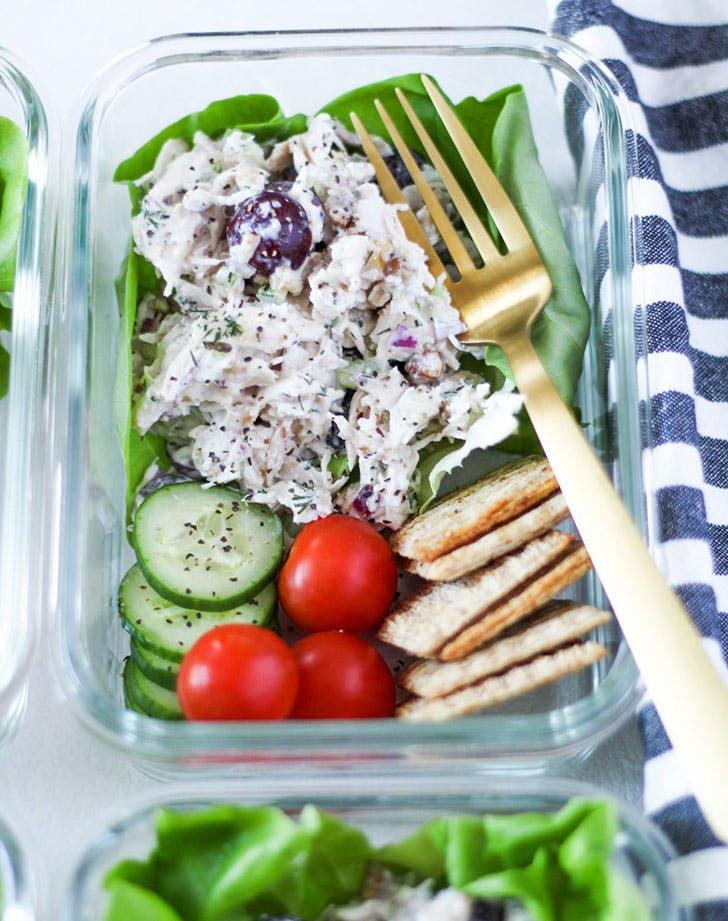meal prep chicken salad recipe