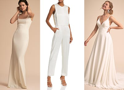 15 Minimalist Wedding Dresses That Prove Less Is More