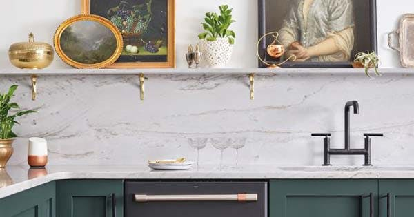 Mixed Metals Are Trending For Kitchen Purewow