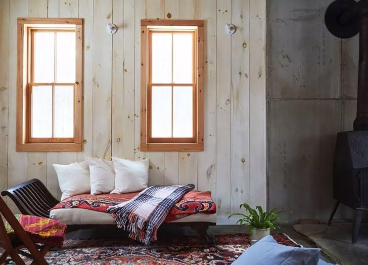 mountaintop perch wood windows