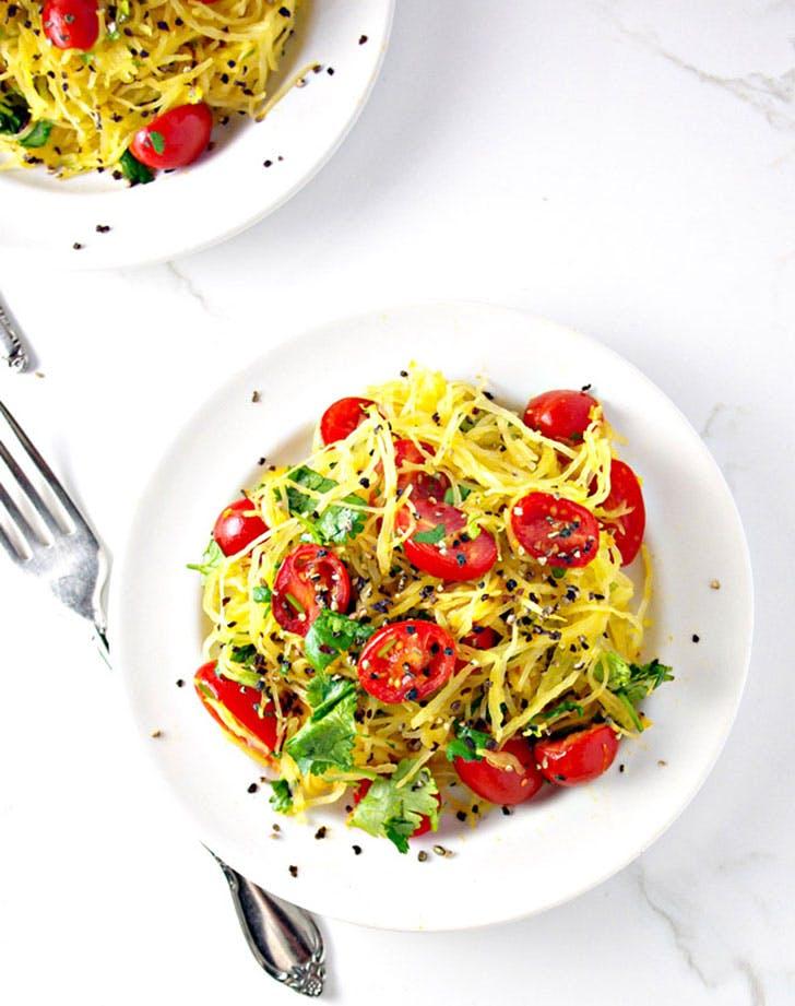 paleo spaghetti squash noodles recipe