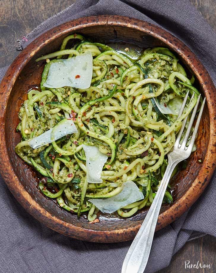 pesto zoodles recipe