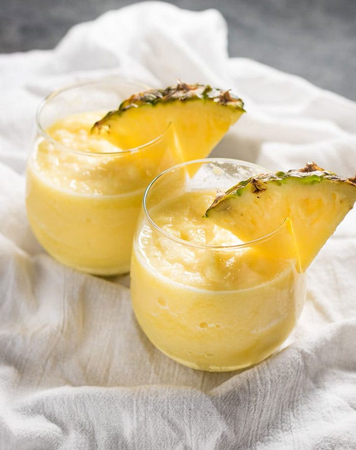 pineapple white wine slushie recipe