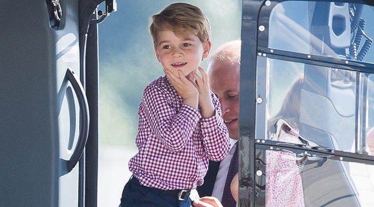 You Guys, Prince George Made the U.K.s Best-Dressed List at Age 5