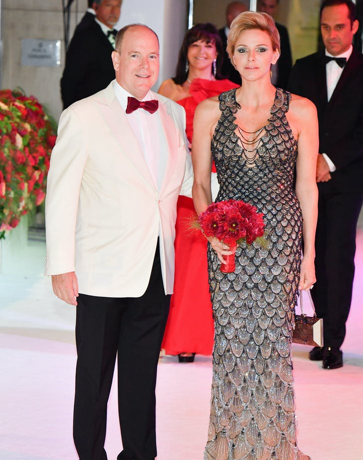 princess charlene versace gown