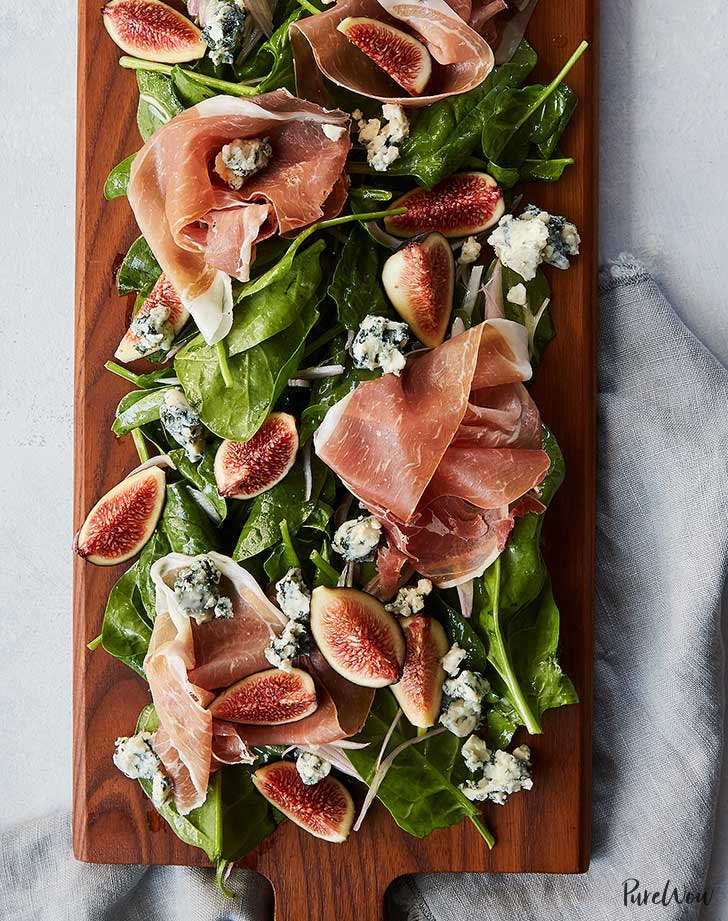 proscuitto fig salad board recipe