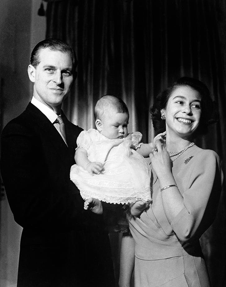 Rare Royal Photo Alert: Young Queen Elizabeth Actually Looks *Giddy* in 1948 Pic with Newborn Prince Charles