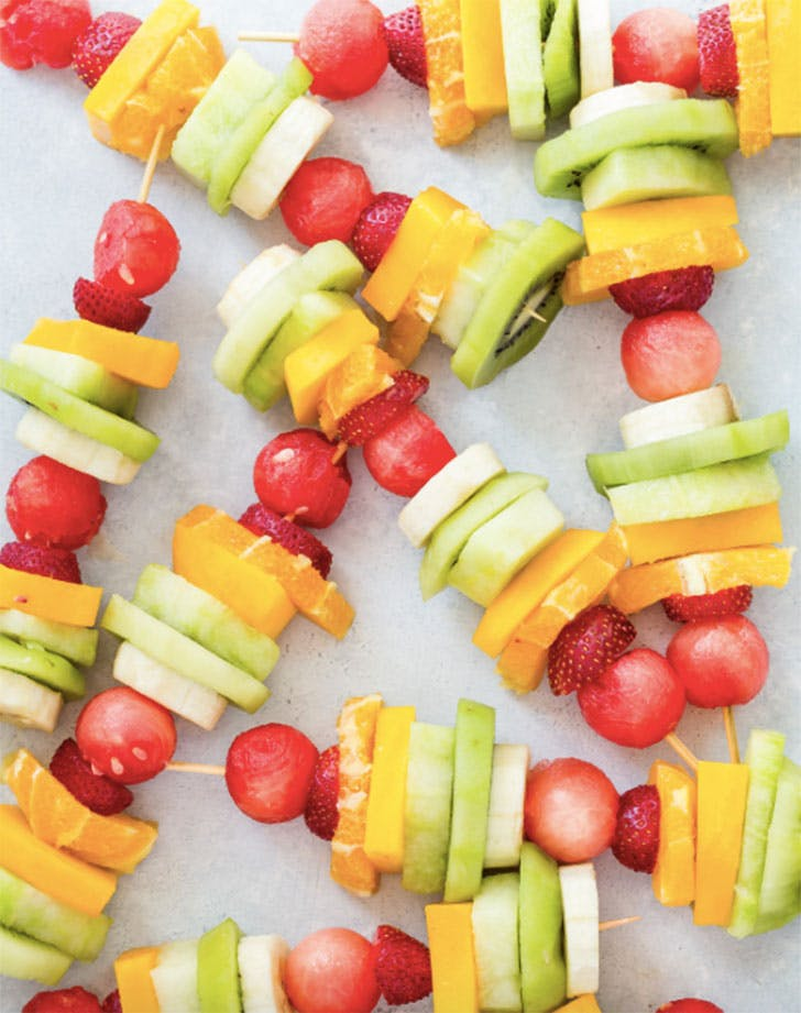 rainbow fruit kabobs recipe