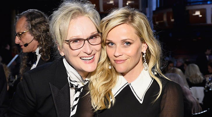Reese Witherspoon Admits Hurling Ice Cream at Meryl Streep Is One of Her Fave Career Moments