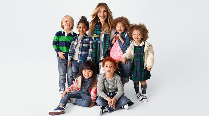 Sarah Jessica Parker and Gap Kids Team Up for a Fall Collection Inspired by Hand-Me-Downs