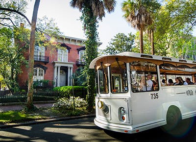 savannah trolley 400