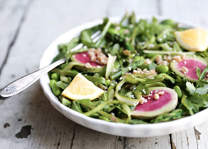 shaved asparagus salad recipe