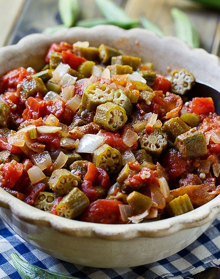 stewed okra tomatoes recipe
