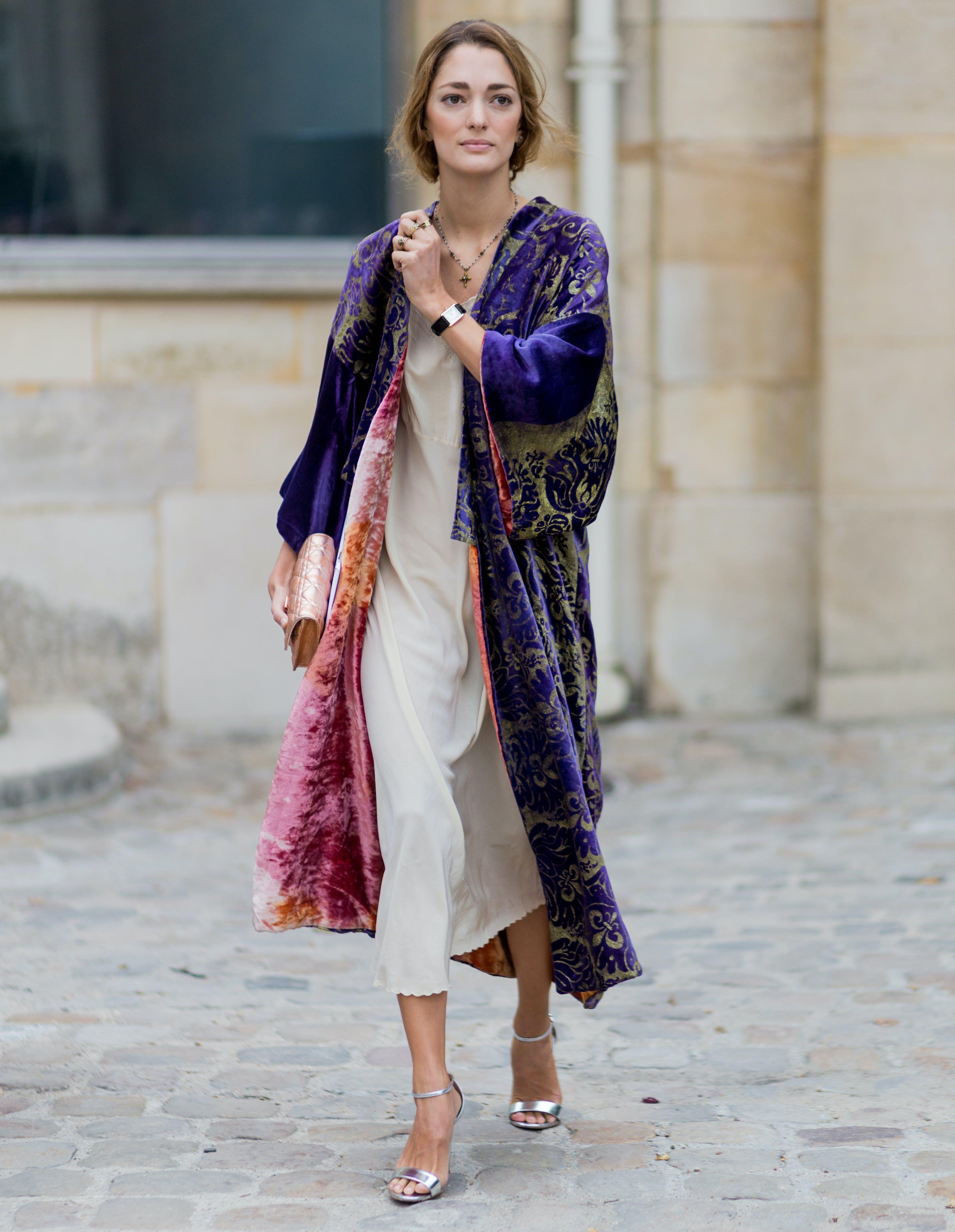 taurus light wrap kimono