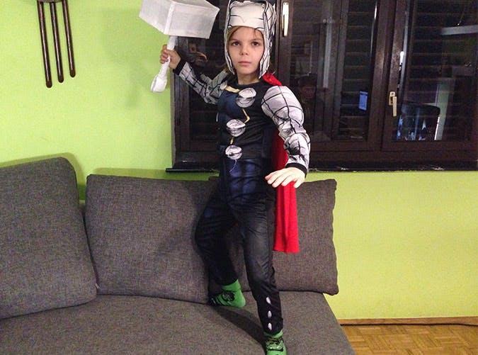 thor halloween costume