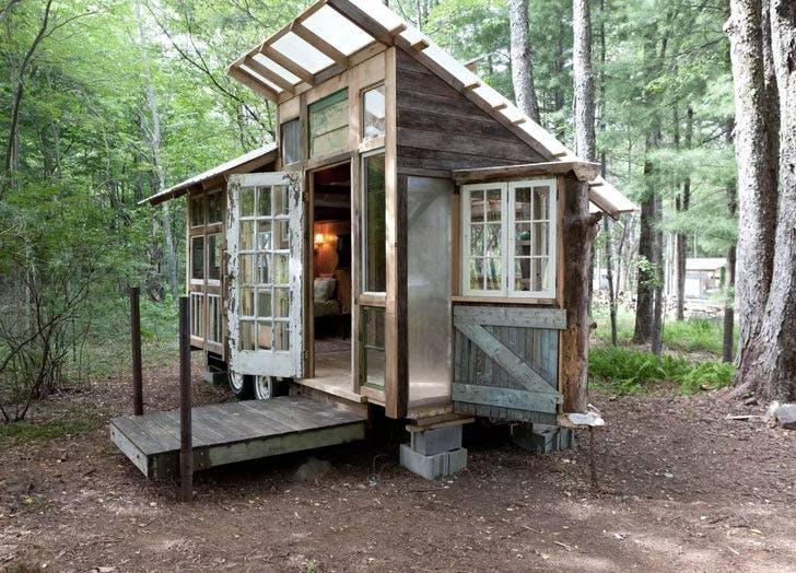 tiny home on farm