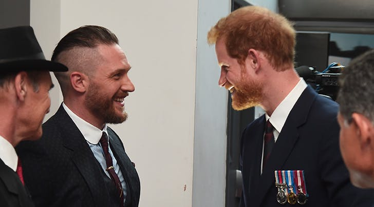 Tom Hardy Dishes on His 'Deeply Private' Friendship with Prince Harry