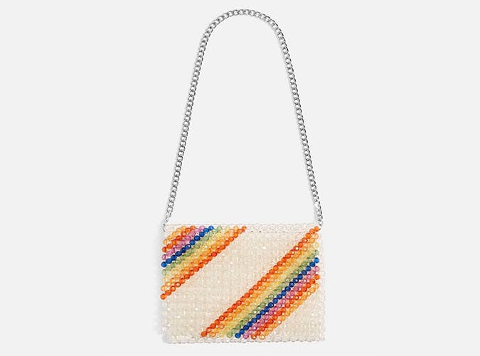 topshop beaded bag