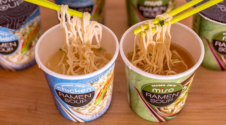 Trader Joe's Just Released Ramen Cups and Even Though We're Not in College We're Totally Obsessed