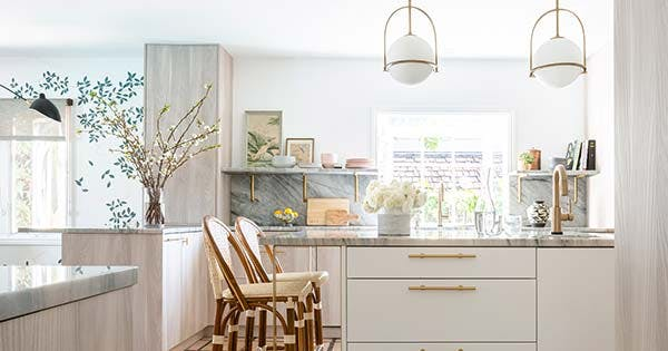 10 Design Ideas We're Stealing from Whitney Port's Bright and Airy New Kitchen