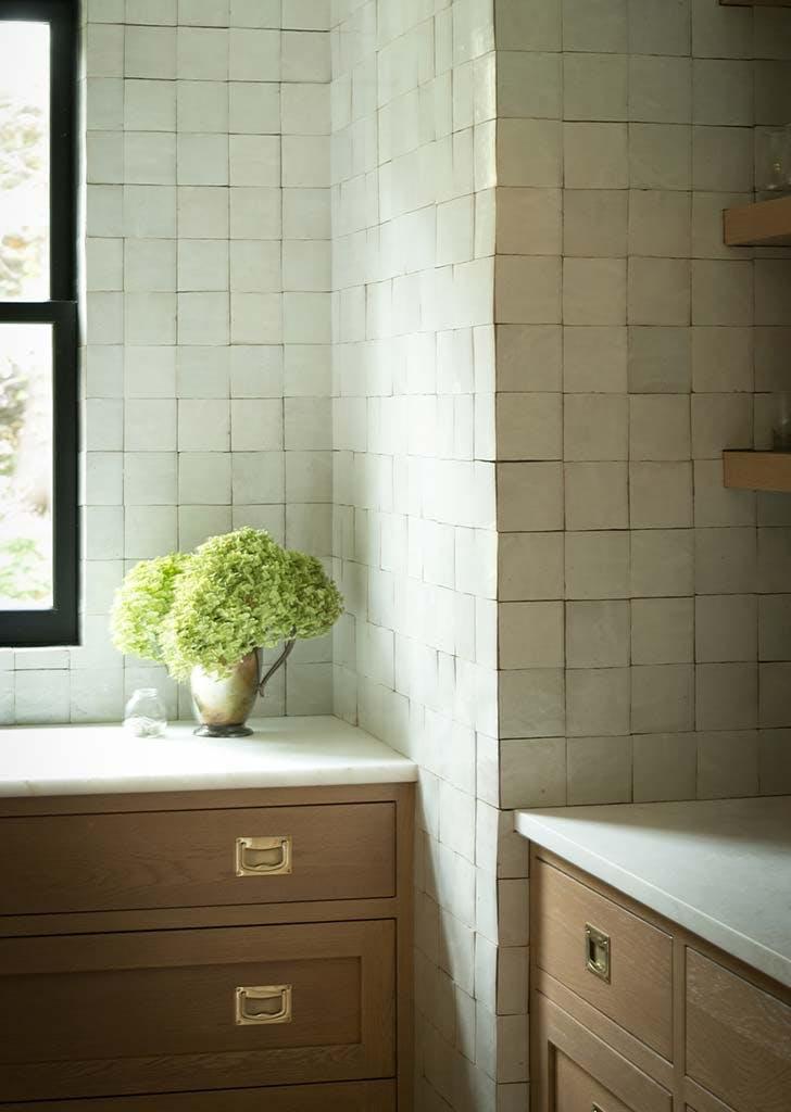 Zellige Tile Backsplash Trend Inspiration Purewow