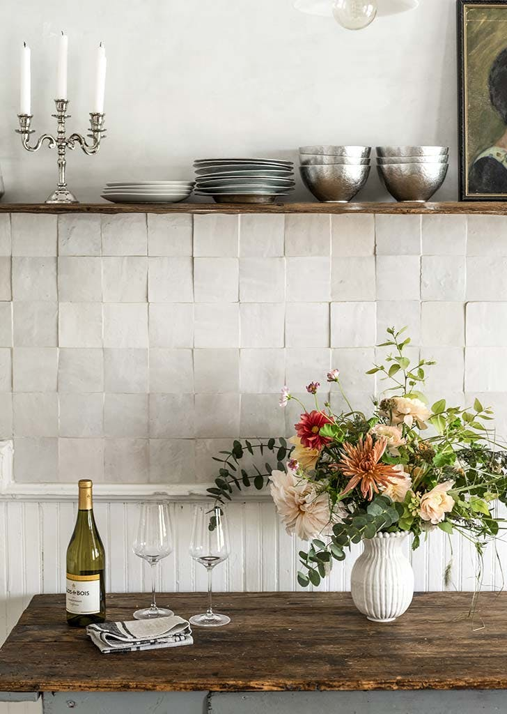Zellige Tile Backsplash Trend Inspiration Purewow
