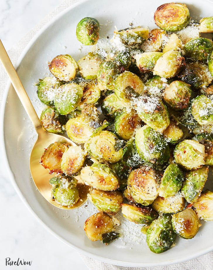 Cacio e Pepe Brussels Sprouts recipe