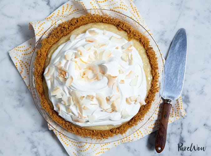 Coconut crean pie
