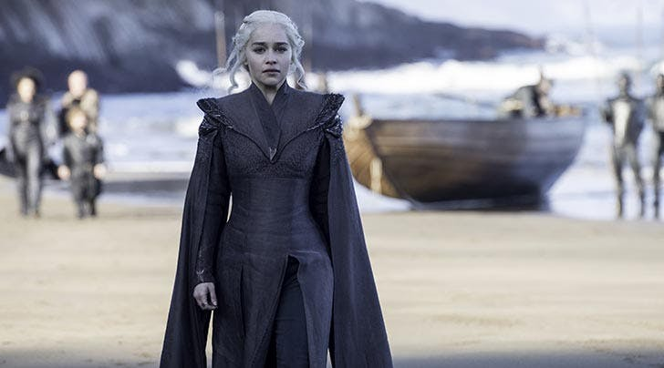Emilia Clarke Wants *This* 'Game of Thrones' Souvenir from the Set