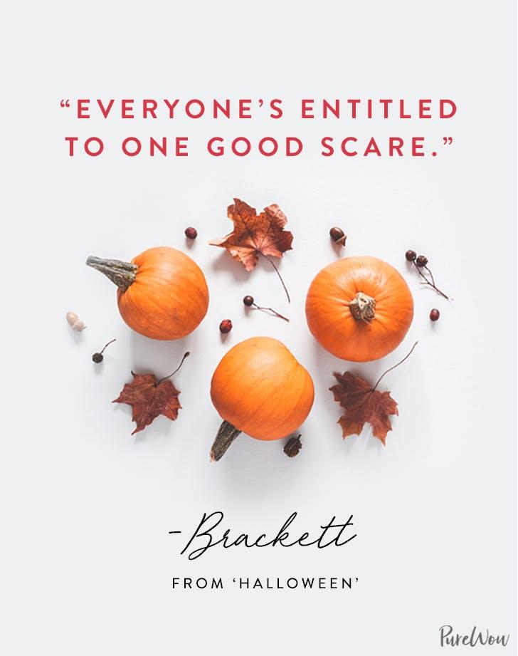 Halloween Quote Brackett