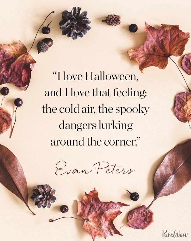 Halloween Quote Evan Peters
