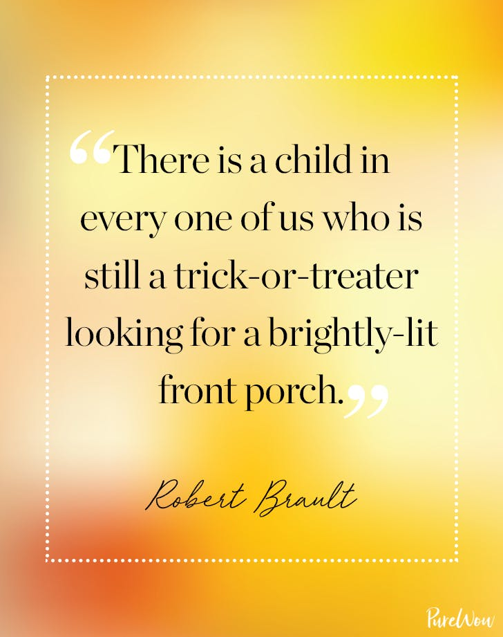 Halloween Quote Robert Brault