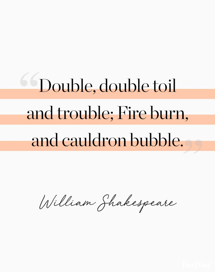Halloween Quote William Shakespeare