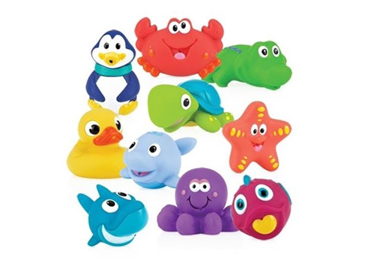 Nuby Little Squirts Bath Squirts