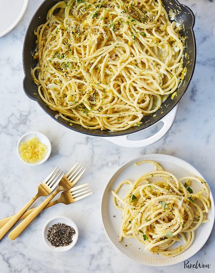 One Pot  15 Minute Pasta Limone recipe
