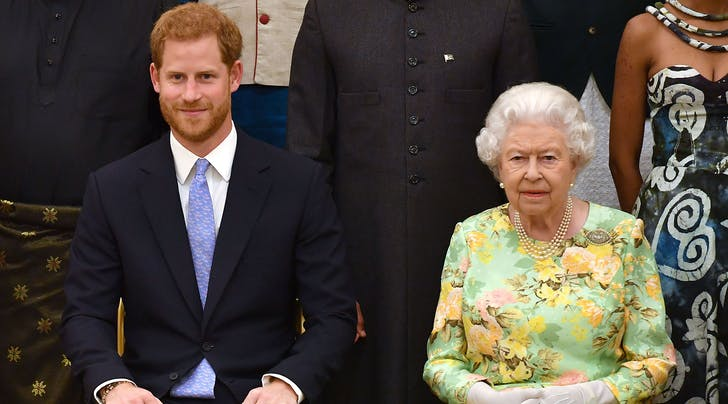 Prince Harry Admits He's Intimidated by His Grandma Queen Elizabeth