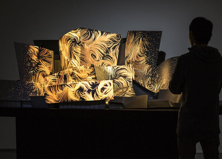 Refik Anadol light art