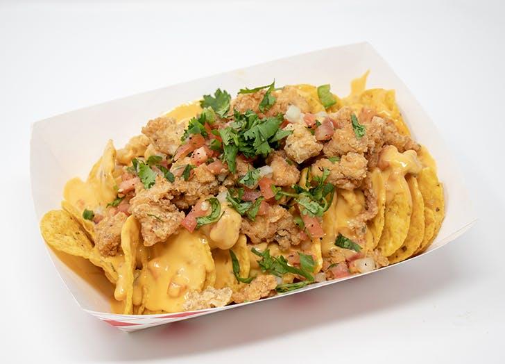 Southern Fried Chicken Nachos
