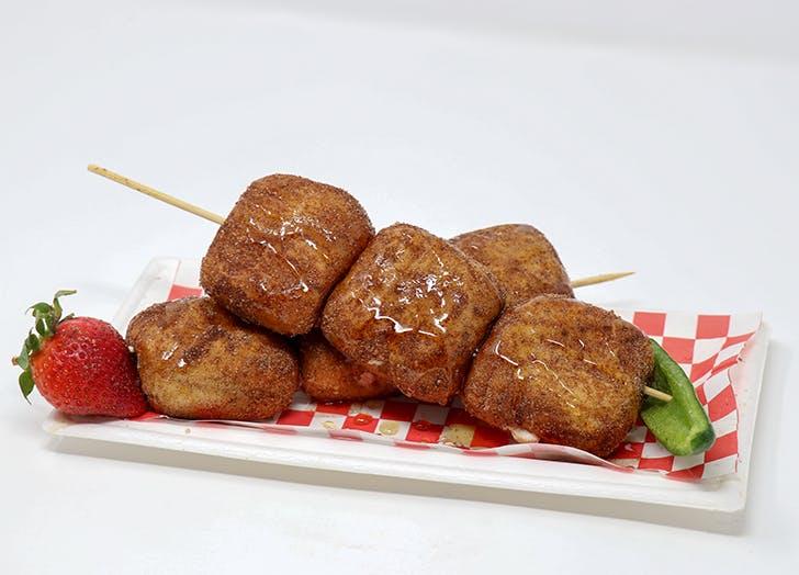 Supra Stuffed Mini Sopapillas
