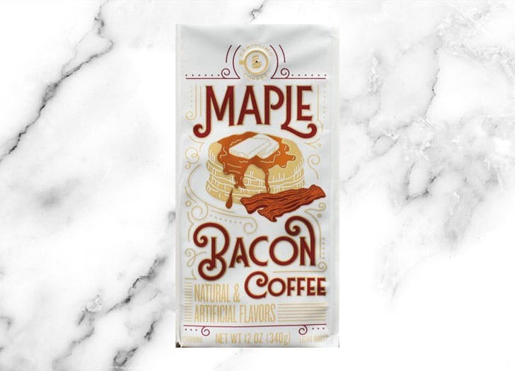 aldi barissimo ground maple bacon coffee