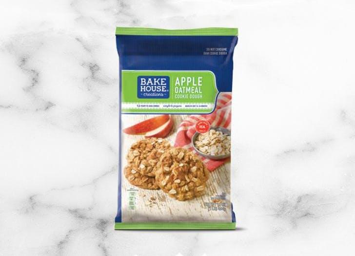 aldi bake house creations apple oatmeal cookie dough