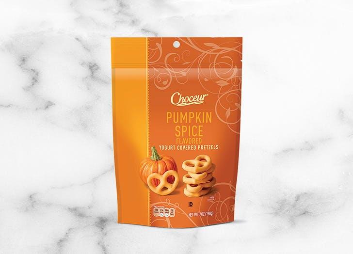 aldi choceur pumpkin spice pretzels