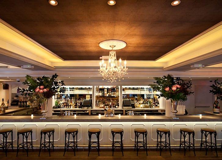 bagatelle bar chandelier