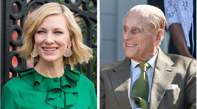 Prince Philip Asked Cate Blanchett the Weirdest Question During a Buckingham Lunch, but She Kept Her Cool