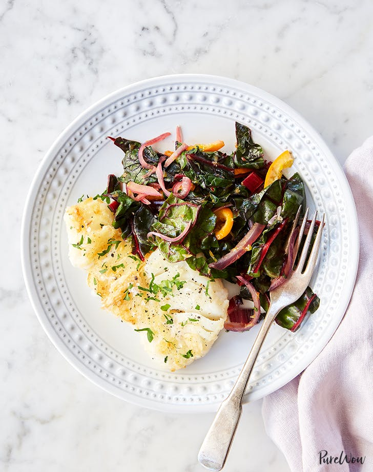 cod with orange swiss chard recipe1