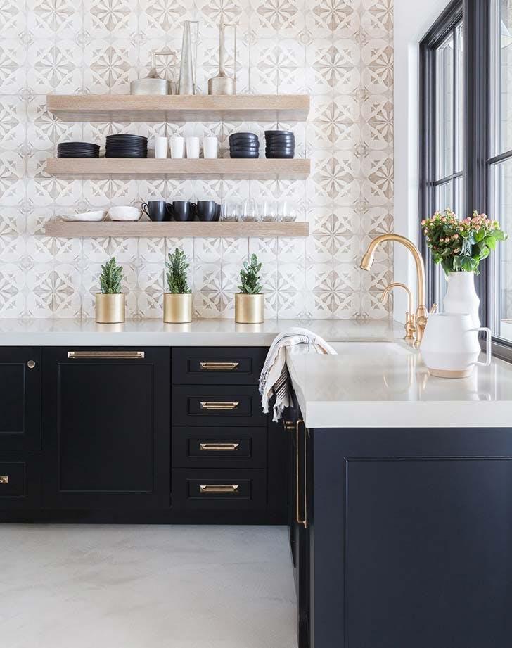 10 kitchen designs that use black  purewow
