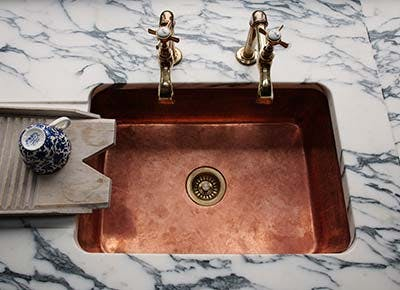 copper sink 400