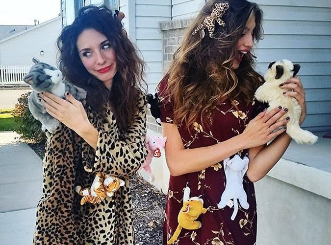 crazy cat lady womens costume