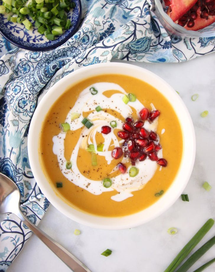 creamy butternut squash soup coconut milk recipe1