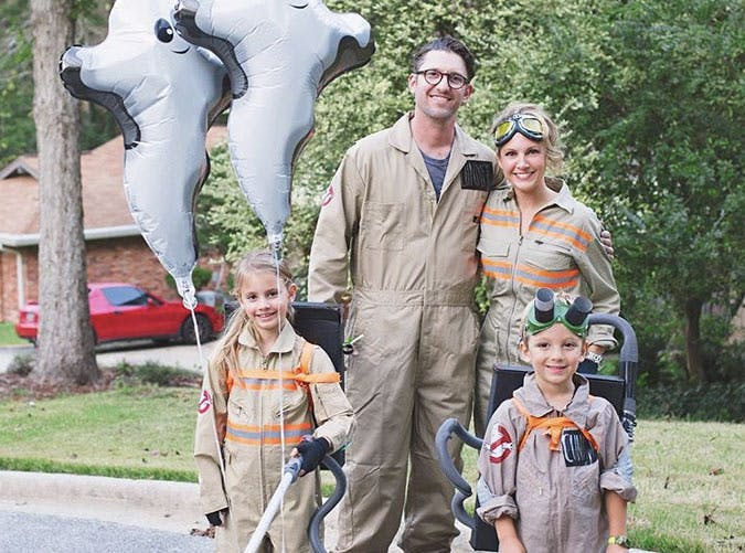 family ghost busters costumes